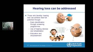 BSHAA webinar: World Hearing Day 2017 with Dr Shelly Chadha