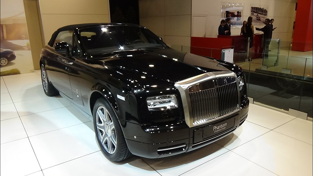 2016 rolls royce phantom drophead coupe exterior and interior auto show brussels 2016. Black Bedroom Furniture Sets. Home Design Ideas