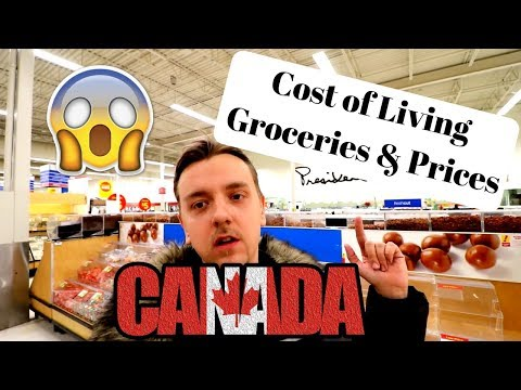Cost of living in Canada | Groceries and Prices