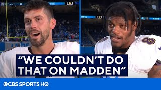 Justin Tucker and Lamar React to the Longest Field Goal in NFL History | CBS Sports HQ