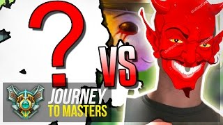 MOST TOXIC CHAMP vs MOST TOXIC PLAYER!? - Teemo 2.0 - Journey To Masters #50 S7 - League of Legends