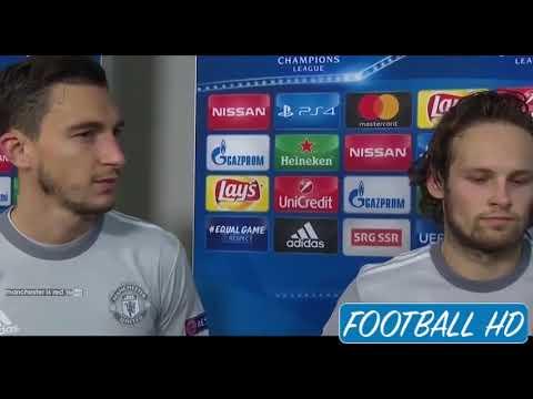 Daley Blind & Matteo Darmian Post Match Interview