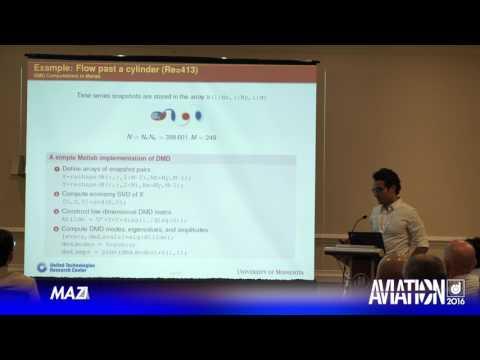 2016 AIAA AVIATION Forum: Flow Control - Maziar Hemati, Maziar Hemati