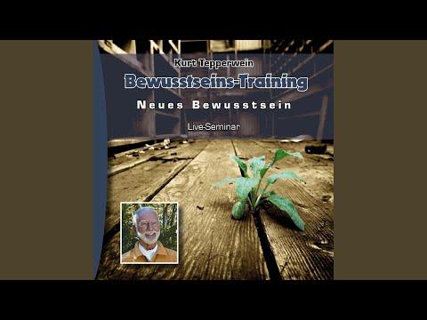 Bewusstseins-Training, Kapitel 1