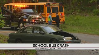 NC School Bus Crash