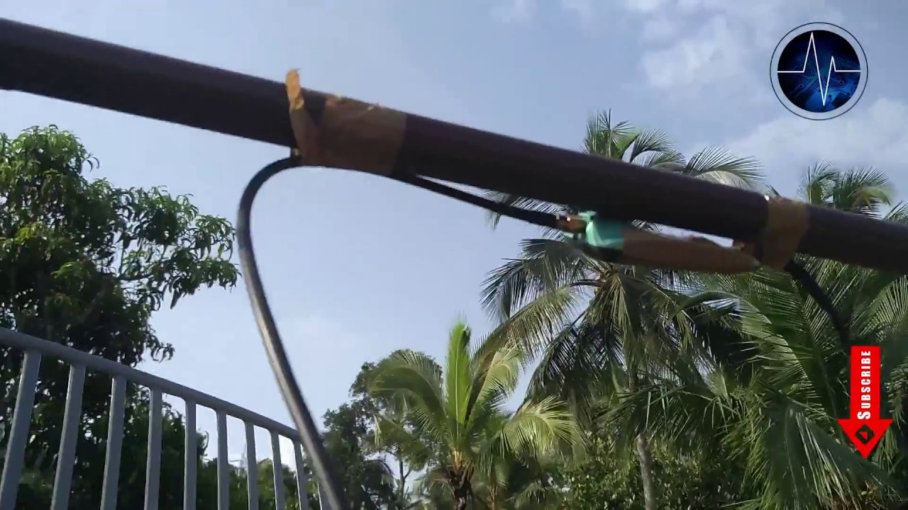 Ultra Long Range WiFi Receiver at Home Using Powerful Antenna