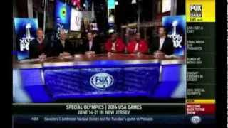 Special Olympics Segment FOX Super Bowl Daily 012814