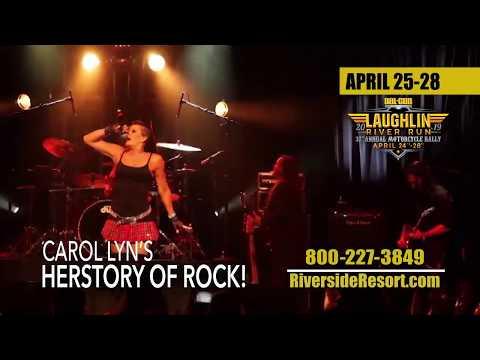 RIVERSIDE RESORT - Carol Lyn's Herstory Of Rock!