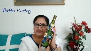Bottle Painting #diy | #diyhomedecor