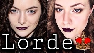 ♛ Lorde Inspired   Make-Up Tutorial & Outfit Idea ♛ Thumbnail