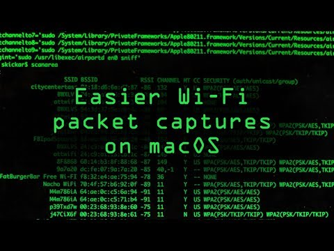 Mac for Hackers: How to Set Up a MacOS System for Wi-Fi Packet
