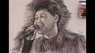 How to draw Marcelito Pomoy? #americasgottalent