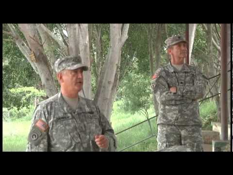 The Adjutant General of the Missouri Army National Guard visits FOB Naco