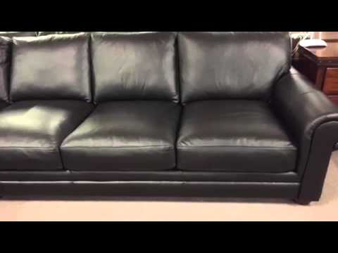 Gentil Sedona Oversized Seating Sectional. Leather Furniture Expo