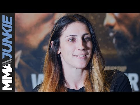 UFC 225: Megan Anderson prefight