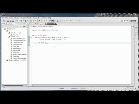 Java Programming: 12 - Packages