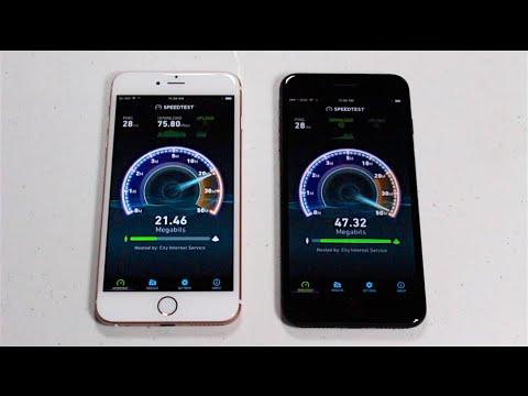 iPhone 7 Plus vs. iPhone 6S Plus - SPEED TEST