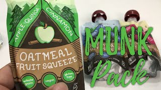 Munk Pack Oatmeal Fruit Squeeze Pack in Apple Quinoa Cinnamon Flavor