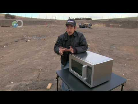 MythBusters - Greased Lightning  - C-4 Cuisine