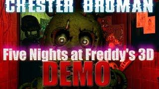 - Five Nights at Freddy s 3D Demo Пять ночей у Фредди 3 демо
