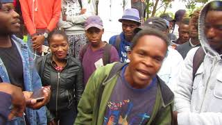 Cleo Bonny hip hop batlling Mafikeng Campus NWU 2018 free styling South Africa