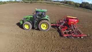 Cultivation and sowing of winter wheat 091015