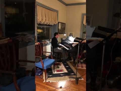 Bierstein Piano Concerto No.1 in A Minor, I - Mozart Party Peformance