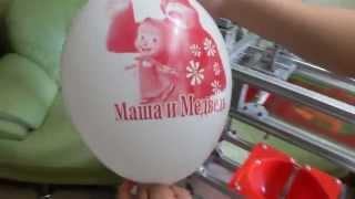 Печать на шарах станок МПШ - 05 printing balloons(Механическое оборудование для печати на шарах. Модель МПШ - 05. Отличный не дорогой вариант для организации..., 2015-09-17T23:44:42.000Z)