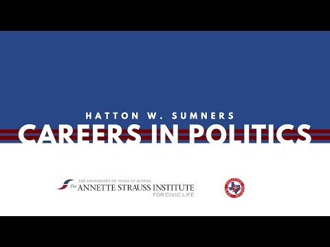 Hatton W. Sumners Careers in Politics Conference