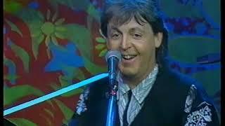 Paul McCartney - Hope Of Deliverance, Michelle, Biker Like An Icon - Carlton New Year - 01/01/1993