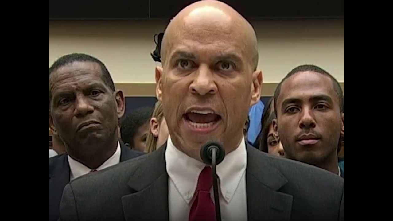 Cory Booker demands study on reparations for slavery at House hearing