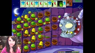 GAMING TEST 3 - Plants vs Zombies Final Boss Fight