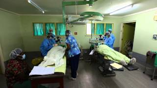 Outreach: A timelapse of the Operating Theatre in Rakiraki, Fiji