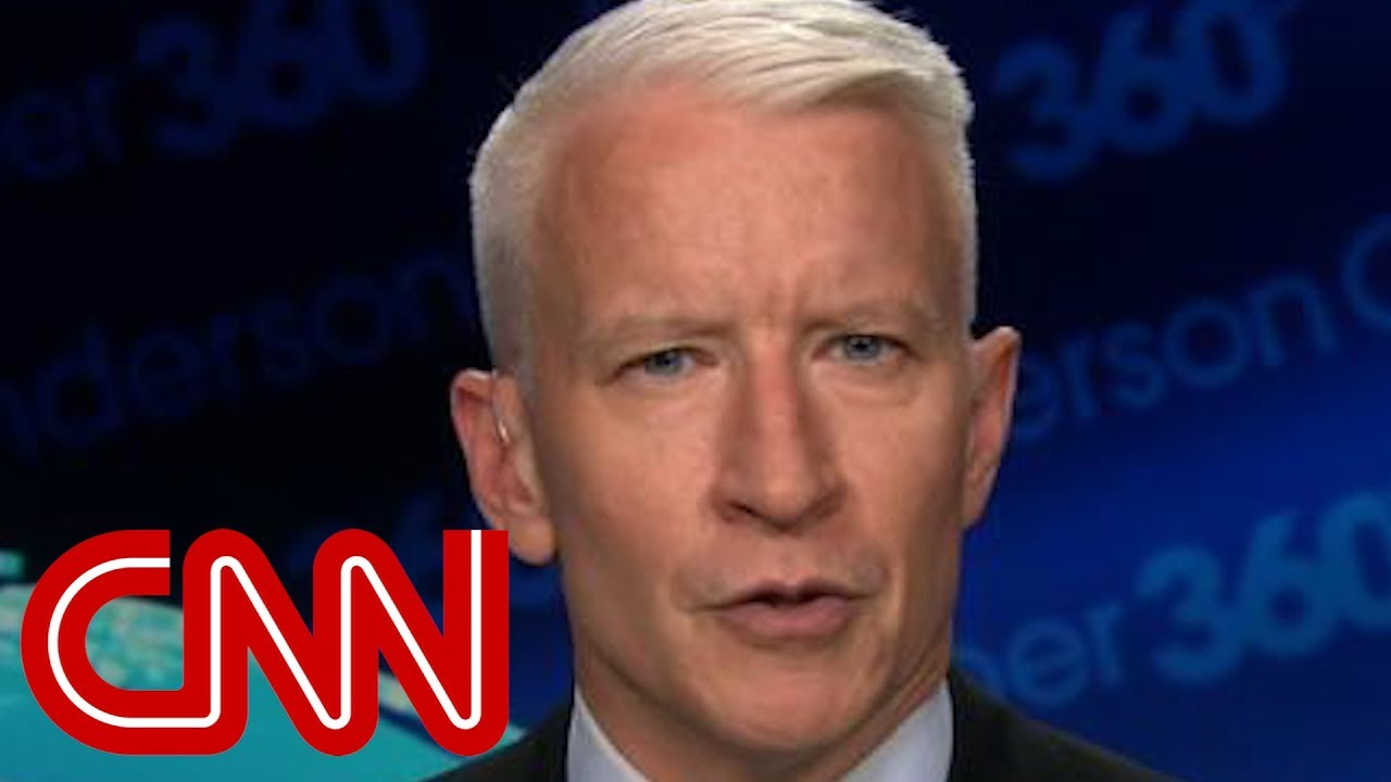 Anderson Cooper: Trump won't admit he reversed course