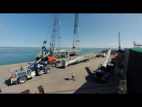 How to erect a Kanon Marine Loading Arm