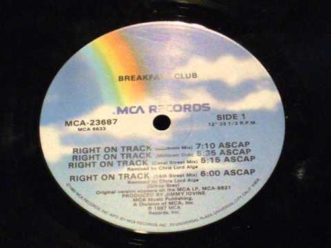 Right on track - Breakfast club