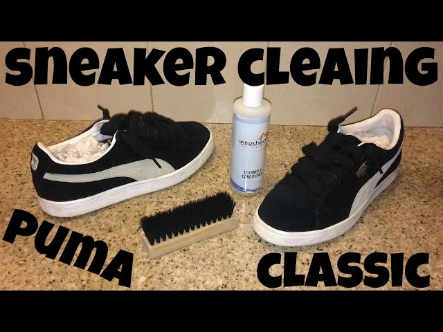 Sneaker Cleaning for Classic Suede
