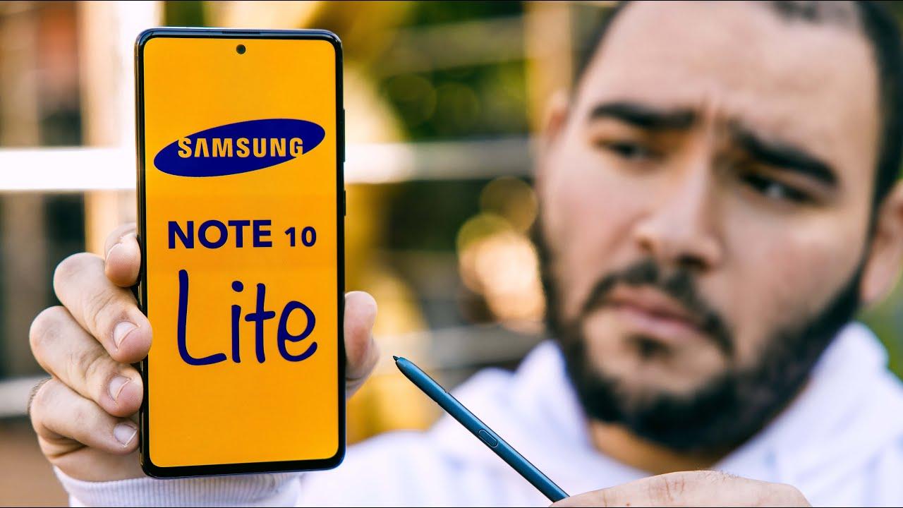 Samsung Galaxy Note 10 lite Review || النوت الذي يحتاجه الجميع !! مواصفات هاتف