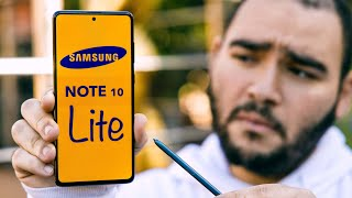 Samsung Galaxy Note 10 lite Review النوت الذي يحتاجه الجميع !!