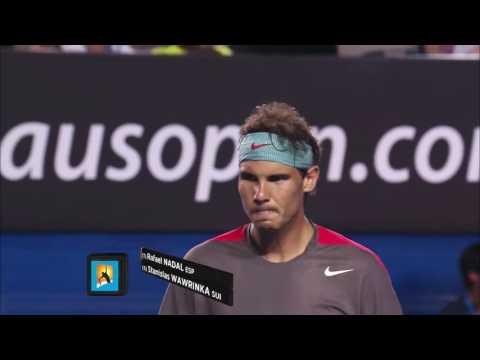2014 Australian Open Final   Wawrinka vs Nadal 1080p