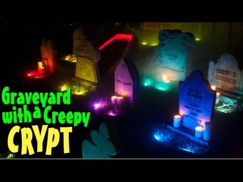 Halloween Decoration Ideas | DIY Animated Halloween Props | Halloween Graveyard Tombstones