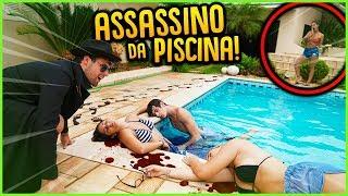 ASSASSINOS: DESCUBRA O ASSASSINO NA PISCINA!! ( MINI GAME NOVO ) [ REZENDE EVIL ]