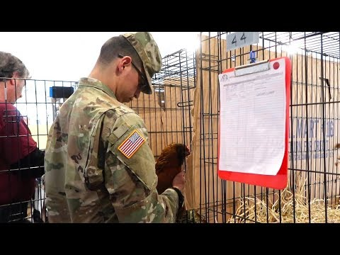 "California Fire Disaster Trip (Cutest Animals Ever!) - Thrive Causemetics - ""Soldier Pets a Chicken"""