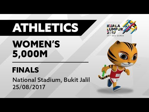 KL2017 29th SEA Games | Athletics - Women's 5,000m FINALS |