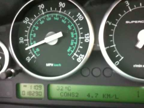 Acceleration 0-100 Km/h Range Rover Supercharged V8 by Ulimite