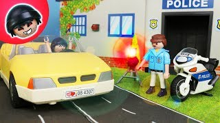 Karlchen wird geblitzt! Playmobil Polizei Film - KARLCHEN KNACK #147