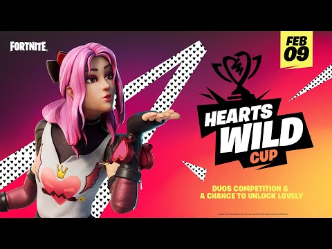"How To Get The ""Lovely"" Valentine's Day Skin For FREE (HEARTS WILD CUP)"