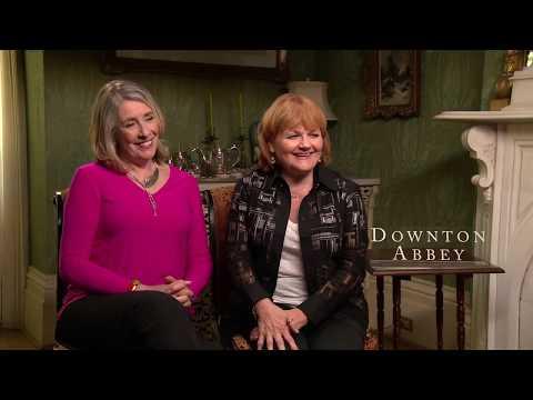 Phyllis Logan & Lesley Nicol talk Downton Abbey (Quick Cut)