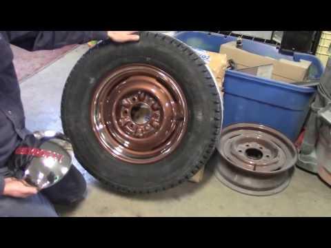 1949 Classic Chevy Truck, Steel Wheels & Tires Part 1, lastchanceautorestore com