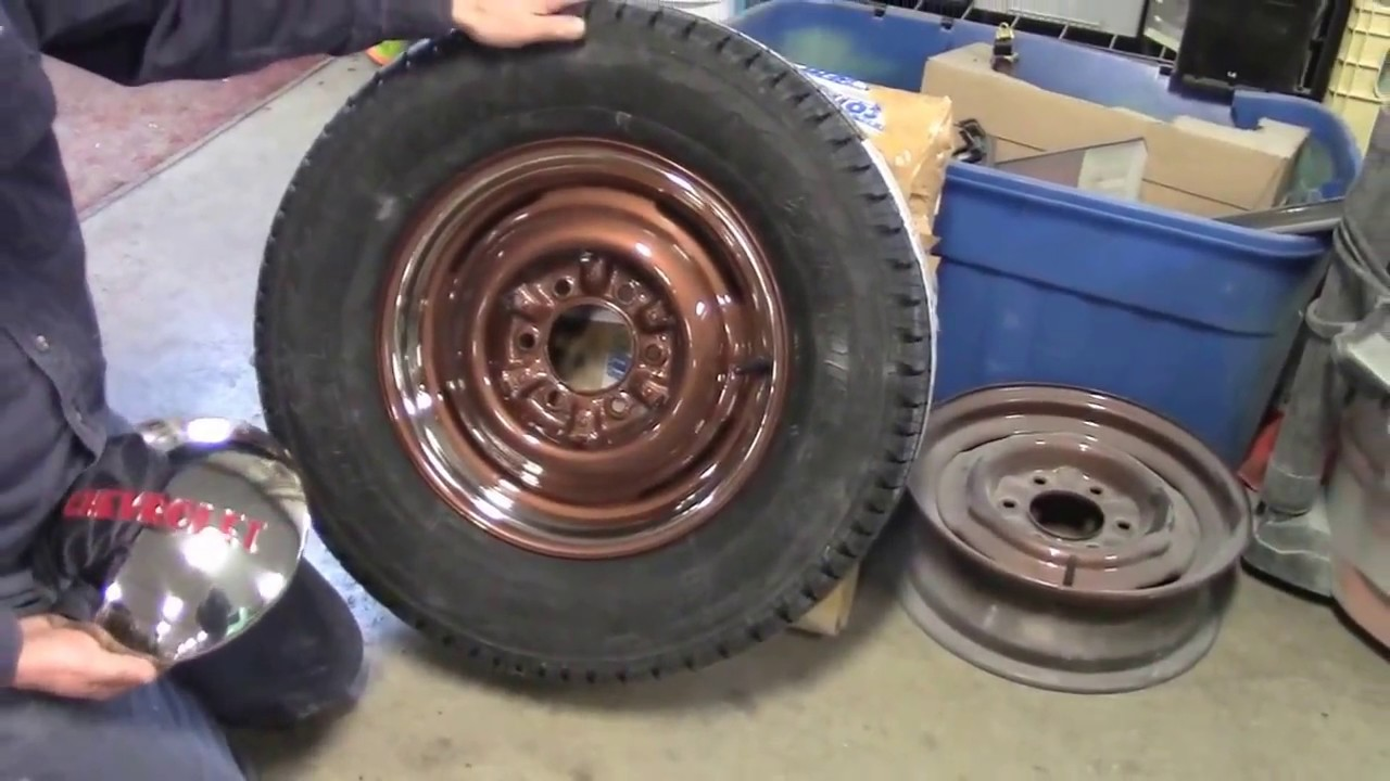1949 Classic Chevy Truck, Steel Wheels & Tires Part 1, lastchanceautorestore com - YouTube